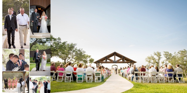 Callie wedding Boulder Spring wedding album layout