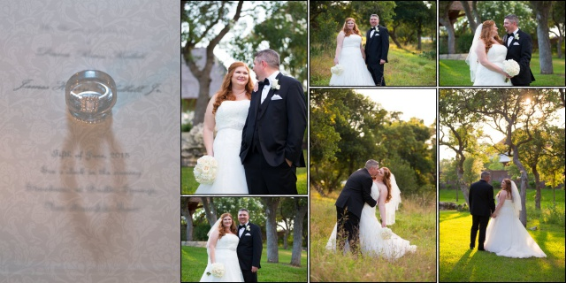 Diana wedding Boulder Springs couple album layout