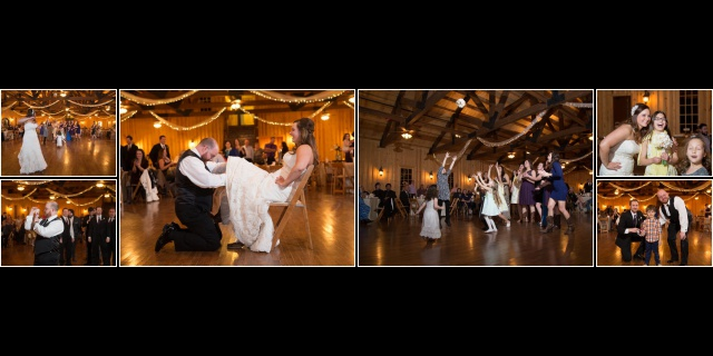Chelsie wedding Boulder Springs bouquet toss album layout