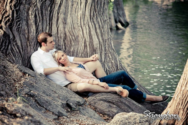 Engagement Sitting Guadalupe river