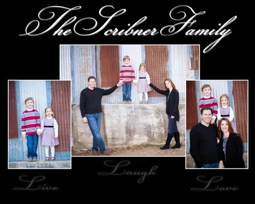 Scribner Family Christmas Sitting
