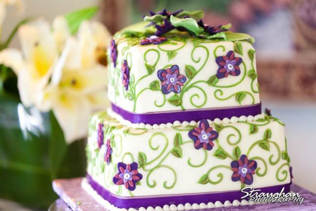 Vineyards wedding Emily Cake