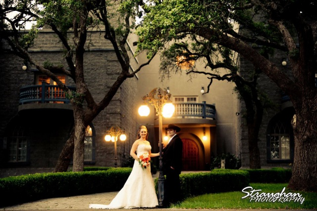 Castle Avalon wedding Couple
