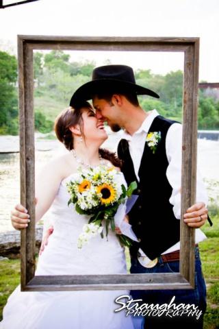 Milltown wedding New Braunfels Couple