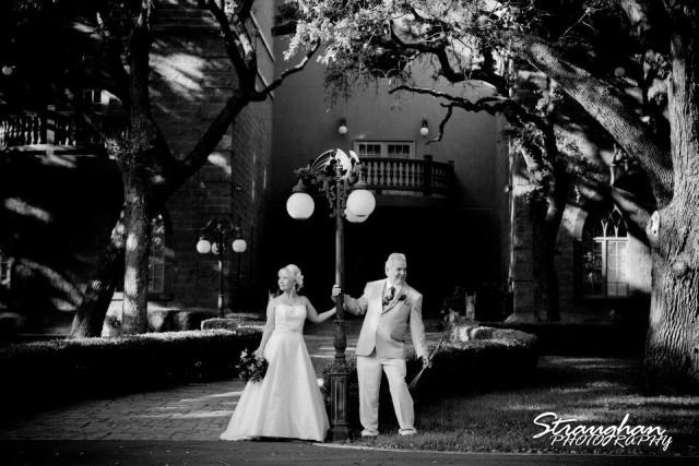 Castle Avalon wedding Couple