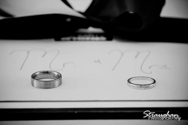Milltown wedding New Braunfels rings