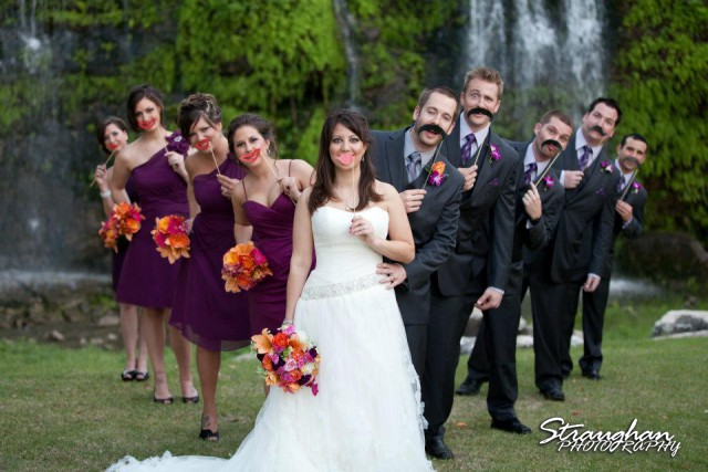 Canyon Springs Wedding Bridal Party