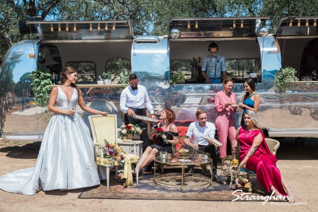 Park 31 styled shoot in the airstream entire party