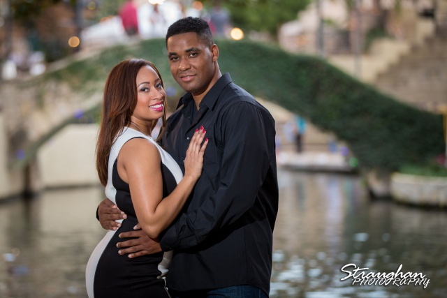 Lorie Engagement San Antonio Riverwalk La Villita Bridge