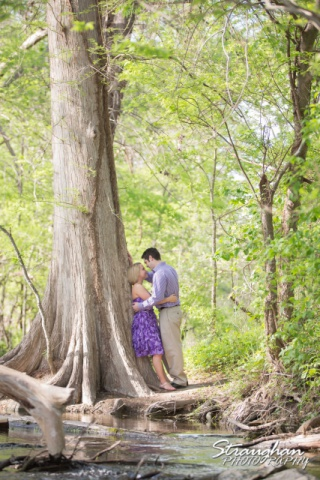 Engagement Boerne Carley Cibolo Natural area tree