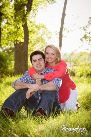 Engagement Boerne Carley Cibolo Natural area bright
