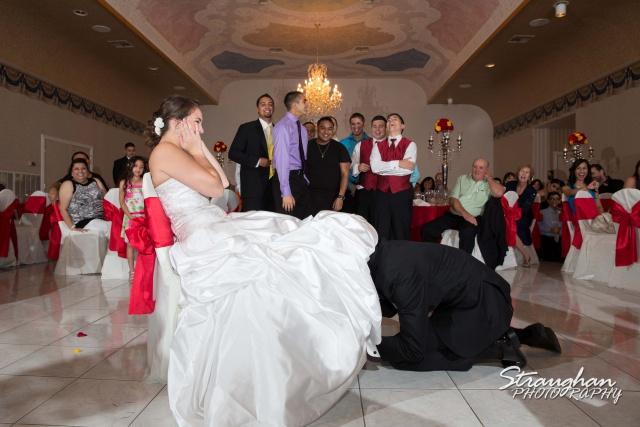 Allison wedding Castle Avalon garter