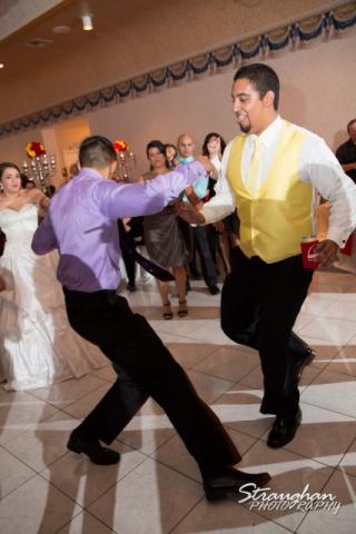 Allison wedding Castle Avalon dancing