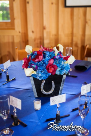 Lacey wedding Boulder Springs Legacy Hall centerpiece