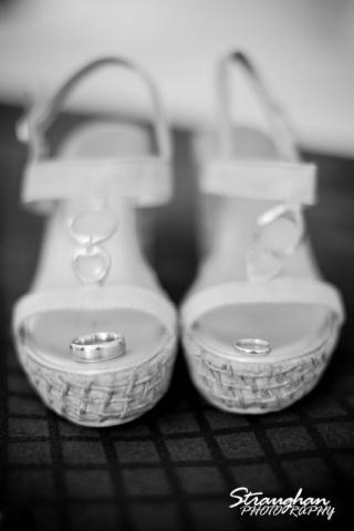 Yvonne shoes double tree hilton San antonio wedding