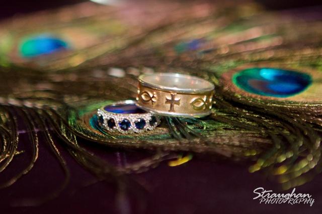 Peacock Rings