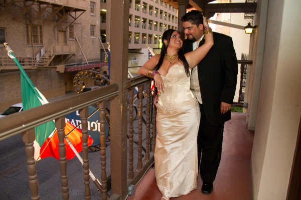 Monica and Chacho get married