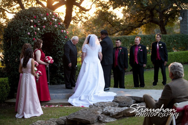 Jen and Manuel wedding sun