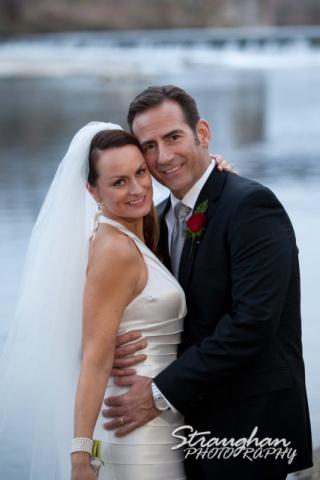 Milltown Wedding Faust Bridge kiss Brett New Braunfels