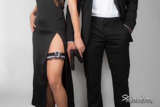 jays engagement, garder on her gun belt