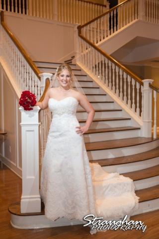 Katie's Bridal Kendall Plantation inside steps