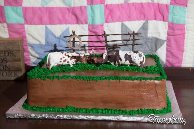 woode's wedding poteet, cake