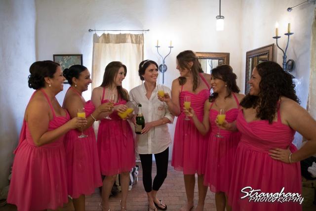 Jackie and Steve's wedding, toast