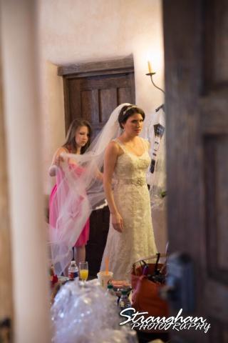 Jackie and Steve's wedding, bride