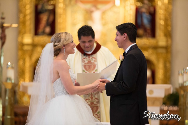 Michelle and Juan's,San Fernando Cathedral holding hands