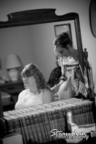woode's wedding poteet, getting ready 2