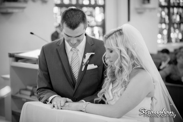 Eric and robyns wedding, signing wedding license