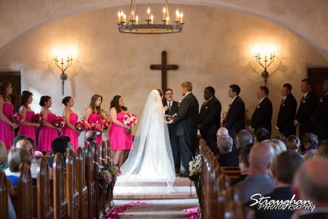 Jackie and Steve's wedding, walking down the alie