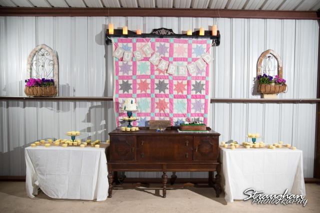 woode's wedding poteet, cake1