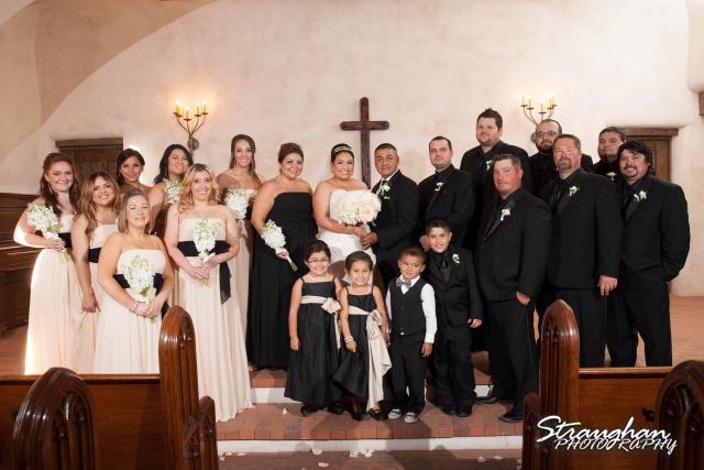 Alex wedding Lost Mission bridle party