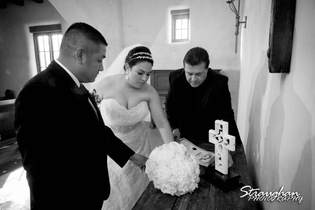 Alex wedding Lost Mission signing marriage lisens