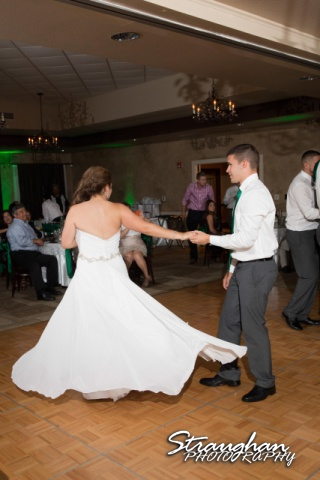 Andi and Ricks wedding, twirl