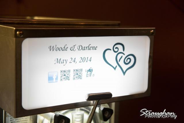 woode's wedding poteet, margarita machine