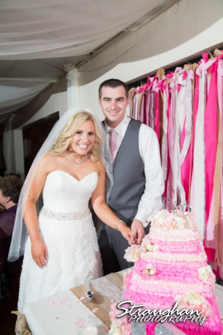 Eric and robyns wedding, cake cutting
