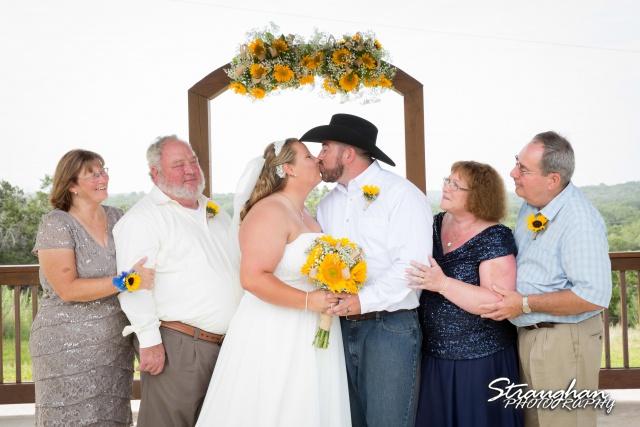 Lindsey and Tommy's Wedding, Boulder Springs parent photo