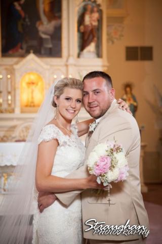 Emily and Brandon's Wedding, Annunciation Catholic Church, bride and groom1