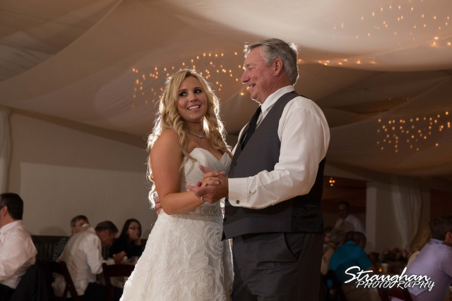 Eric and robyns wedding, father daughter dance