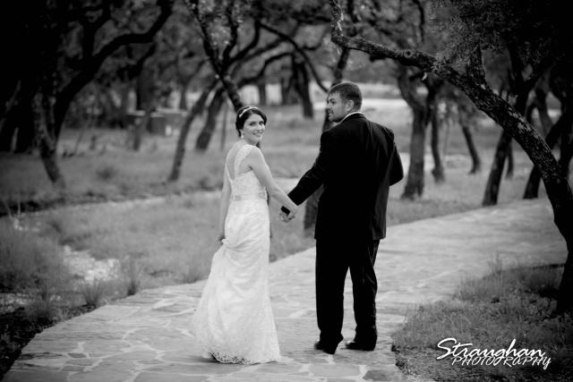 Jackie and Steve's wedding, a heart