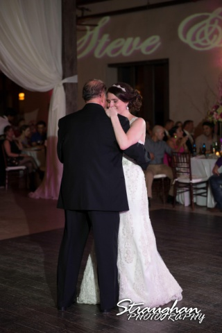 Jackie and Steve's wedding, father daughter dance