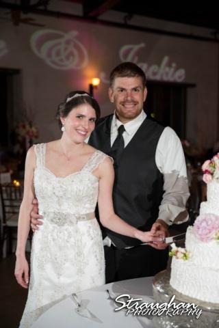 Jackie and Steve's wedding, cake