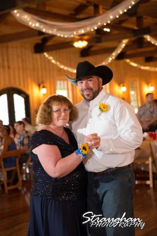 Lindsey and Tommy's Wedding, Boulder Springs mother son dance1