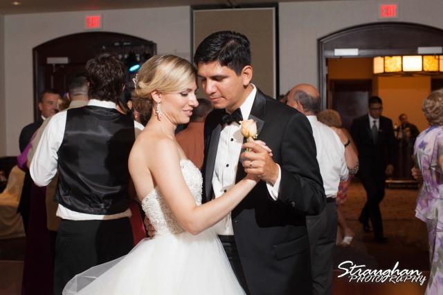 Michelle and Juan's,San Fernando Cathedral first dance