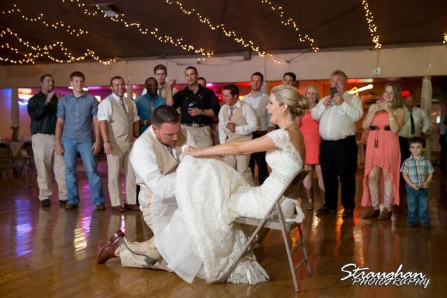 Emily and Brandon's Wedding, Annunciation Catholic Church garder