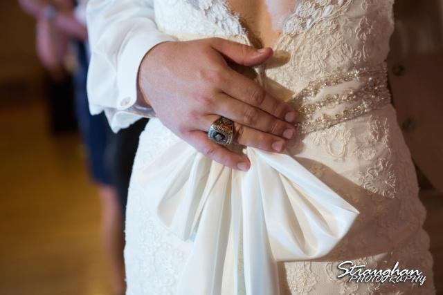 Emily and Brandon's Wedding, Annunciation Catholic Church first dance