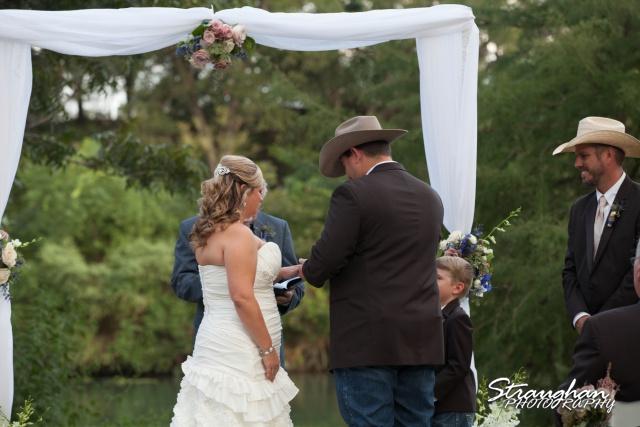 Angie wedding Marriott New Braunfels ring exchange