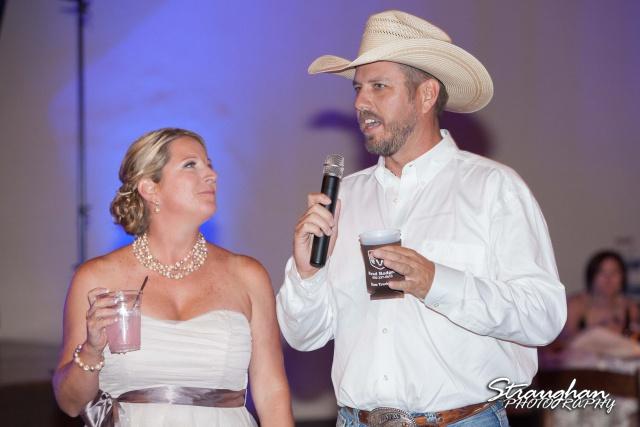 Angie wedding Seekats New Braunfels toasts